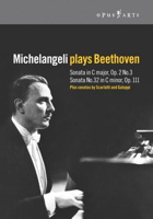 Michelangeli plays Beethoven. © 1962 RAI, 2005 Opus Arte
