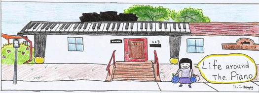 Life around the Piano -- Jaqueline C Tu