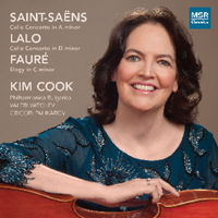 Saint-Saëns and Lalo Cello Concertos - Kim Cook. © 2014 MSR Classics