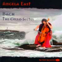 Bach: The Cello Suites - Angela East. © 2009 Red Priest Recordings