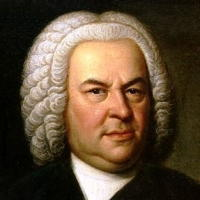 Johann Sebastian Bach at sixty-one. Detail from a 1746 portrait by Elias Gottlob Haussmann