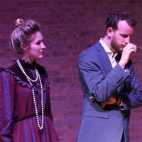 Isabella Pitman and Tom Lowen in Freddie Meyers' new opera 'A Sketch of Slow Time'