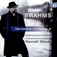 Brahms: Piano Quartet No 2 in A, Op 26. English Symphony Orchestra. Orchestrated and conducted by Kenneth Woods. © 2018 Wyastone Estate Ltd