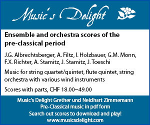 Music's Delight - Ensemble and orchestra scores of the pre-classical period