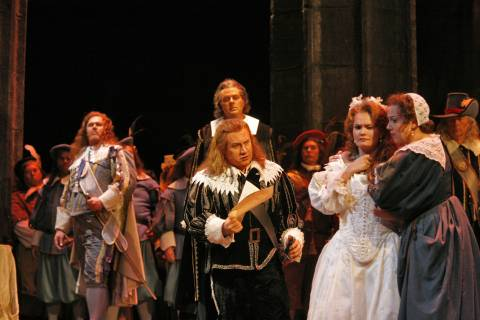 The cast of San Diego Opera's'Lucia di Lammermoor'