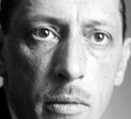 Autor: Igor Stravinsky (Oranienbaum, 17 de juny de 1882 – Nova York, 6 d'abril de 1971), compositor rus. - igor-stravinsky