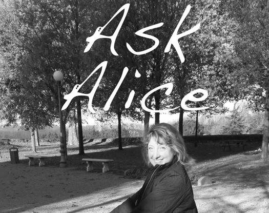 Ask Alice, with Alice McVeigh