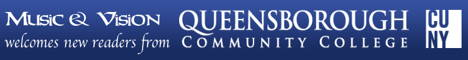 Music and Vision welcomes new readers from Queensborough Community College CUNY