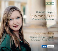 Christoph Graupner: Lass mein Herz - Cantatas and Ouvertures. © 2018 note 1 music gmbh (ACC 24337)