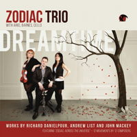 Zodiac Trio - Dreamtime. © 2015 Blue Griffin Recording Inc (BGR 391)