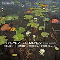 Taneyev and Glazunov String Quintets - Gringolts Quartet, Christian Poltéra. © 2015 BIS Records AB (BIS-2177 SACD)