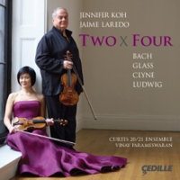 Two x Four - Jennifer Koh and Jaime Laredo. © 2014 Cedille Records (CDR 90000 146)