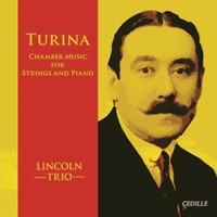 Turina: Chamber Music for Strings and Piano. © 2014 Cedille Records (CDR 90000 150)