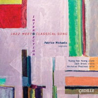 Intersection - Jazz Meets Classical Song. © 2014 Cedille Records (CDR 90000 149)