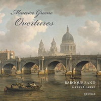 Maurice Greene: Overtures. © 2014 Cedille Records (CDR 90000 152)