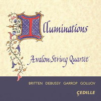 Illuminations - Avalon String Quartet. © 2015 Cedille Records (CDR 90000 156)