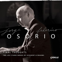 Jorge Federico Osorio - Final Thoughts. © 2017 Cedille Records (CDR 90000 171)