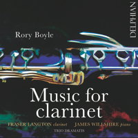 Rory Boyle: Music for Clarinet. © 2017 Delphian Records Ltd (DCD34172)
