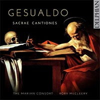 Gesualdo: Sacrae Cantiones. © 2016 Delphian Records Ltd (DCD34176)