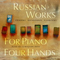 Russian Works for Piano Four Hands. © 2017 Delphian Records Ltd (DCD34191)