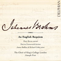 Johannes Brahms: An English Requiem. © 2017 Delphian Records Ltd (DCD34195)