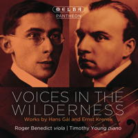 Voices in the Wilderness - Works by Hans Gál and Ernst Krenek. © 2014 Melba Recordings (MR301145)