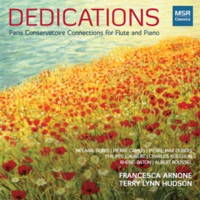 Dedications - Paris Conservatoire Connections for Flute and Piano. © 2014 Francesca Arnone and Terry Lynn Hudson (MS 1431)