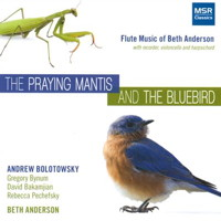 Beth Anderson: The Praying Mantis and The Bluebird. © 2013 Beth Anderson (MS 1434)
