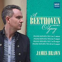 James Brawn - A Beethoven Odyssey Volume 5. © 2017 James Brawn (MS 1469)
