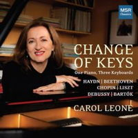 Change of Keys - One Piano, Three Keyboards. © 2016 Carol Leone (MS 1616)