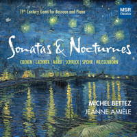Sonatas and Nocturnes - 19th Century Gems for Bassoon and Piano. © 2017 Michel Bettez (MS 1648)