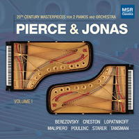 20th Century Masterpieces for 2 Pianos and Orchestra - Pierce & Jonas. © 2017 Pierce & Jonas (MS 1651)