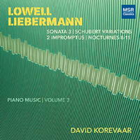 Lowell Liebermann Piano Music Volume 3 - David Korevaar. © 2018 David Korevaar (MS 1688)
