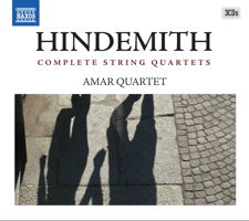Hindemith Complete String Quartets - Amar Quartet. © 2011, 2012, 2015 and 2016 Naxos Rights US Inc (8.503290)
