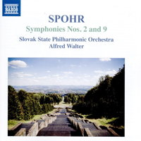 Spohr: Symphonies 2 and 9. © 1993, 2016 Naxos Rights US Inc (8.555540)