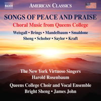 Songs of Peace and Praise. © 2017 Naxos Rights US Inc (8.559819)
