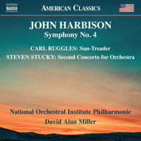 Ruggles, Stucky, Harbison: Orchestral Works. © 2018 Naxos Rights US Inc (8.559836)
