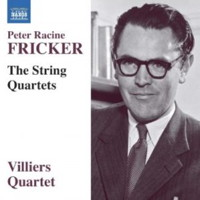 Peter Racine Fricker: The String Quartets. © 2017 Naxos Rights US Inc (8.571374)