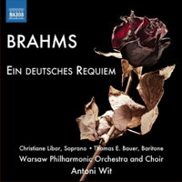 Brahms: Ein deutsches Requiem. © 2014 Naxos Rights US Inc (8.573061)
