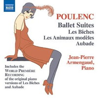 Poulenc: Ballet Suites (piano versions). © 2014 Naxos Rights US Inc (8.573170)