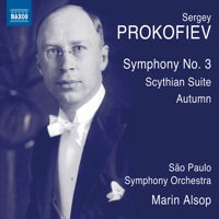 Prokofiev: Symphony No 3; Scythian Suite. © 2015 Naxos Rights US Inc (8.573452)