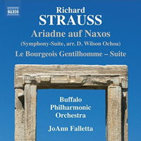 Richard Strauss: Ariadne auf Naxos Suite. © 2017 Naxos Rights US Inc (8.573460)