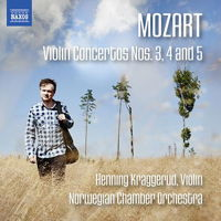 Mozart: Violin Concertos Nos 3, 4 and 5 - Henning Kraggerud. © 2016 Naxos Rights US Inc (8.573513)