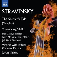Stravinsky: The Soldier's Tale (complete). © 2016 Naxos Rights US Inc (8.573537)