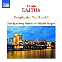 László Lajtha: Symphonies Nos 8 and 9. © 2000 and 2017 Naxos Rights US Inc (8.573648)