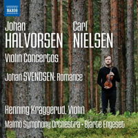 Halvorsen, Nielsen Violin Concertos. © 2017 Naxos Rights US Inc (8.573738)