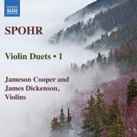 Louis Spohr: Violin Duets 1. © 2018 Naxos Rights US Inc (8.573763)