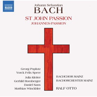 J S Bach: St John Passion. © 2018 Naxos Rights (Europe) Ltd (8.573817-18)