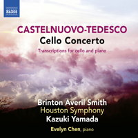 Castelnuovo-Tedesco: Cello Concerto. © 2018 Naxos Rights (Europe) Ltd (8.573820)