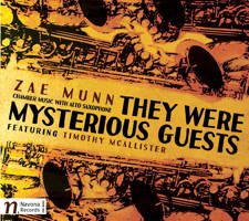 Zae Munn: They Were Mysterious Guests. © 2015 Navona Records LLC (NV5991)